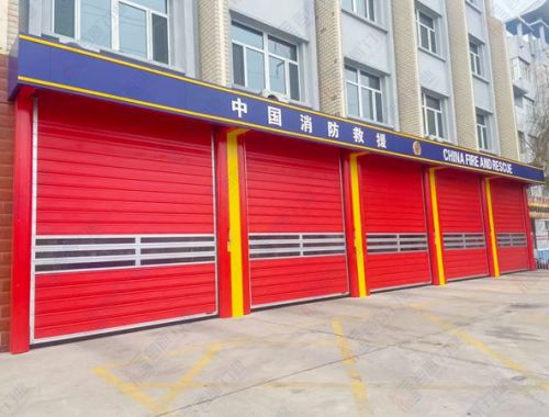 内蒙古赤峰消防安装硬质车库门