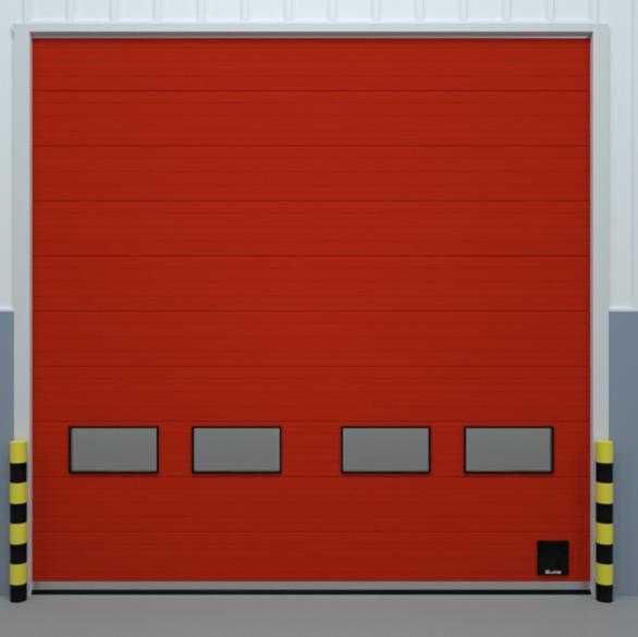 联动消防提升门