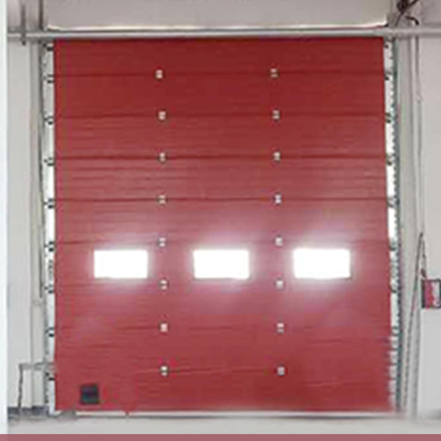 南通消防站车库提升门