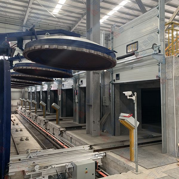 耐高温车间安装的工业提升门完工