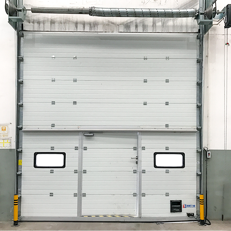 南通可增加小窗的工业提升门
