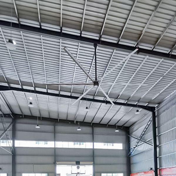 满足什么条件可以安装工业大风扇?